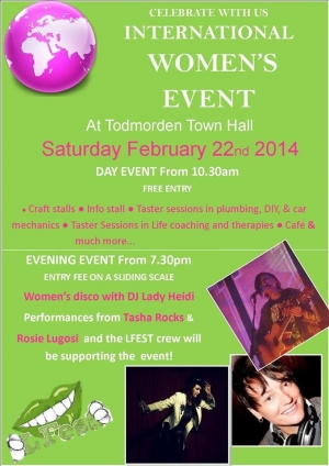 22.2.2014 - International Women's Day, Todmorden